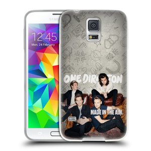 Silikonové pouzdro na mobil Samsung Galaxy S5 HEAD CASE One Direction - Na Gaučíku