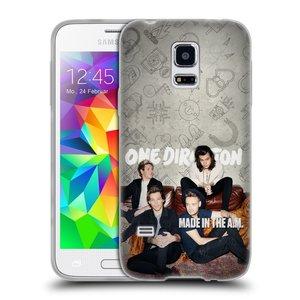 Silikonové pouzdro na mobil Samsung Galaxy S5 Mini HEAD CASE One Direction - Na Gaučíku