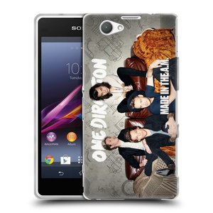 Silikonové pouzdro na mobil Sony Xperia Z1 Compact D5503 HEAD CASE One Direction - Na Gaučíku
