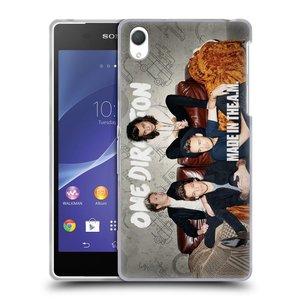 Silikonové pouzdro na mobil Sony Xperia Z2 D6503 HEAD CASE One Direction - Na Gaučíku