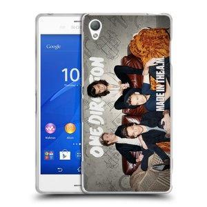 Silikonové pouzdro na mobil Sony Xperia Z3 D6603 HEAD CASE One Direction - Na Gaučíku