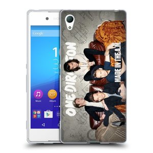 Silikonové pouzdro na mobil Sony Xperia Z3+ (Plus) HEAD CASE One Direction - Na Gaučíku