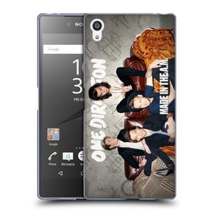 Silikonové pouzdro na mobil Sony Xperia Z5 Premium HEAD CASE One Direction - Na Gaučíku