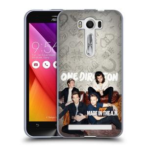 Silikonové pouzdro na mobil Asus ZenFone 2 Laser ZE500KL HEAD CASE One Direction - Na Gaučíku