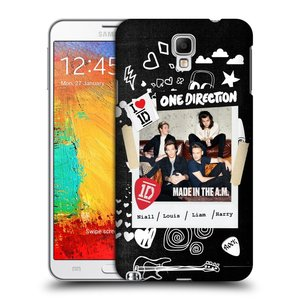 Plastové pouzdro na mobil Samsung Galaxy Note 3 Neo HEAD CASE One Direction - S kytárou