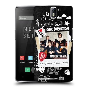 Plastové pouzdro na mobil OnePlus One HEAD CASE One Direction - S kytárou