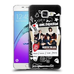 Plastové pouzdro na mobil Samsung Galaxy A5 (2016) HEAD CASE One Direction - S kytárou