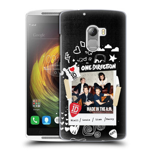 Plastové pouzdro na mobil Lenovo A7010 HEAD CASE One Direction - S kytárou