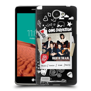 Plastové pouzdro na mobil LG Bello II HEAD CASE One Direction - S kytárou