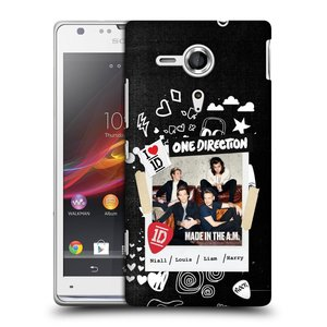 Plastové pouzdro na mobil Sony Xperia SP C5303 HEAD CASE One Direction - S kytárou