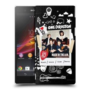 Plastové pouzdro na mobil Sony Xperia Z C6603 HEAD CASE One Direction - S kytárou