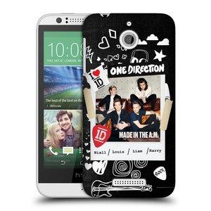 Plastové pouzdro na mobil HTC Desire 510 HEAD CASE One Direction - S kytárou