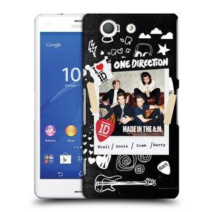 Plastové pouzdro na mobil Sony Xperia Z3 Compact D5803 HEAD CASE One Direction - S kytárou