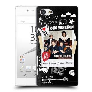 Plastové pouzdro na mobil Sony Xperia Z5 Compact HEAD CASE One Direction - S kytárou
