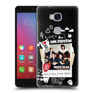 Plastové pouzdro na mobil Honor 5X HEAD CASE One Direction - S kytárou