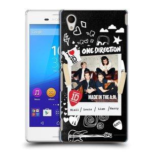 Plastové pouzdro na mobil Sony Xperia M4 Aqua E2303 HEAD CASE One Direction - S kytárou