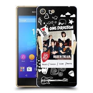 Plastové pouzdro na mobil Sony Xperia M5 HEAD CASE One Direction - S kytárou