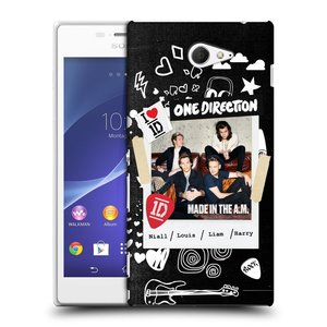 Plastové pouzdro na mobil Sony Xperia M2 D2303 HEAD CASE One Direction - S kytárou