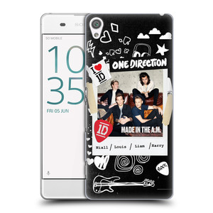 Plastové pouzdro na mobil Sony Xperia XA HEAD CASE One Direction - S kytárou