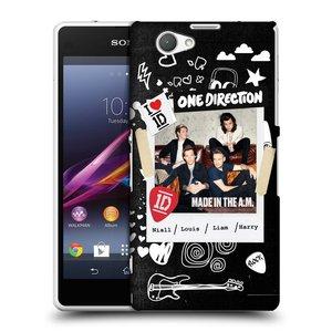 Plastové pouzdro na mobil Sony Xperia Z1 Compact D5503 HEAD CASE One Direction - S kytárou
