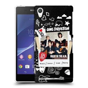 Plastové pouzdro na mobil Sony Xperia Z2 D6503 HEAD CASE One Direction - S kytárou