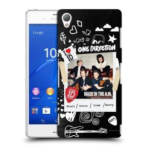 Plastové pouzdro na mobil Sony Xperia Z3 D6603 HEAD CASE One Direction - S kytárou
