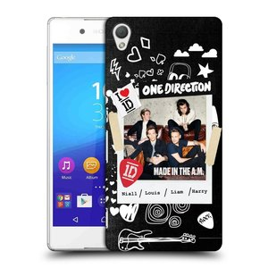 Plastové pouzdro na mobil Sony Xperia Z3+ (Plus) HEAD CASE One Direction - S kytárou