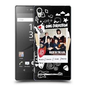 Plastové pouzdro na mobil Sony Xperia Z5 HEAD CASE One Direction - S kytárou