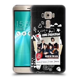 Plastové pouzdro na mobil Asus ZenFone 3 ZE520KL HEAD CASE One Direction - S kytárou