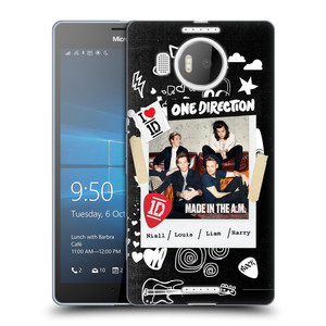Silikonové pouzdro na mobil Microsoft Lumia 950 XL HEAD CASE One Direction - S kytárou