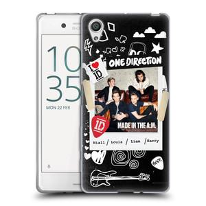 Silikonové pouzdro na mobil Sony Xperia X HEAD CASE One Direction - S kytárou