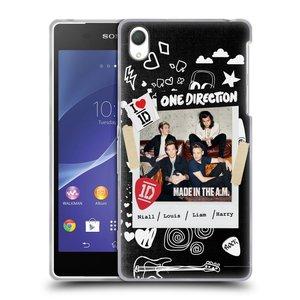 Silikonové pouzdro na mobil Sony Xperia Z2 D6503 HEAD CASE One Direction - S kytárou
