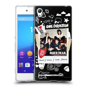 Silikonové pouzdro na mobil Sony Xperia Z3+ (Plus) HEAD CASE One Direction - S kytárou