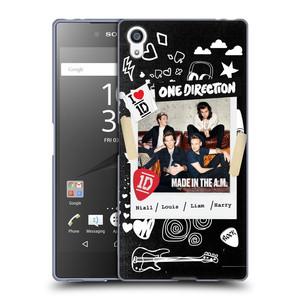 Silikonové pouzdro na mobil Sony Xperia Z5 Premium HEAD CASE One Direction - S kytárou