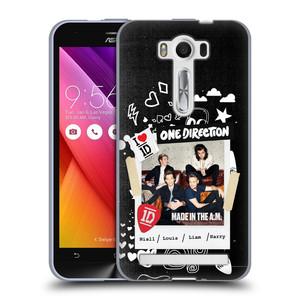 Silikonové pouzdro na mobil Asus ZenFone 2 Laser ZE500KL HEAD CASE One Direction - S kytárou