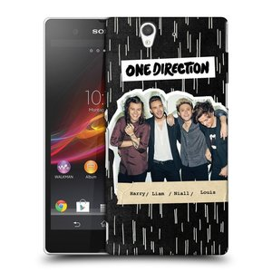 Plastové pouzdro na mobil Sony Xperia Z C6603 HEAD CASE One Direction - Sticker Partička