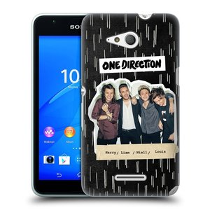 Plastové pouzdro na mobil Sony Xperia E4g E2003 HEAD CASE One Direction - Sticker Partička