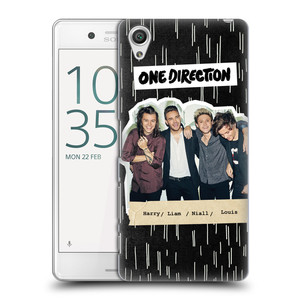 Plastové pouzdro na mobil Sony Xperia X Performance HEAD CASE One Direction - Sticker Partička
