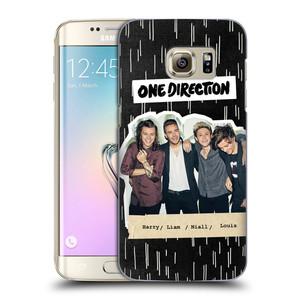 Plastové pouzdro na mobil Samsung Galaxy S7 Edge HEAD CASE One Direction - Sticker Partička