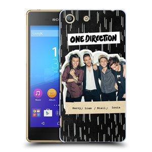 Plastové pouzdro na mobil Sony Xperia M5 HEAD CASE One Direction - Sticker Partička