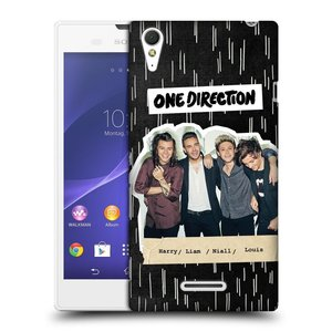 Plastové pouzdro na mobil Sony Xperia T3 D5103 HEAD CASE One Direction - Sticker Partička
