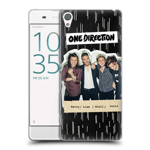 Plastové pouzdro na mobil Sony Xperia XA HEAD CASE One Direction - Sticker Partička