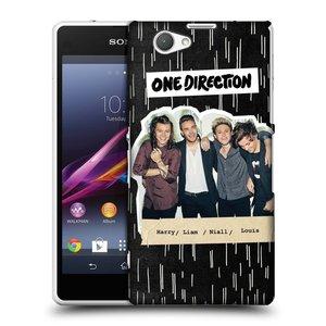 Plastové pouzdro na mobil Sony Xperia Z1 Compact D5503 HEAD CASE One Direction - Sticker Partička
