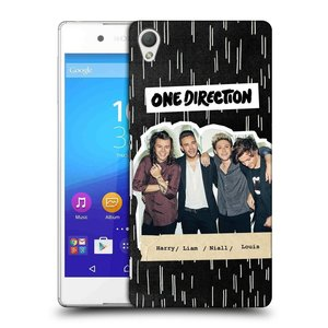 Plastové pouzdro na mobil Sony Xperia Z3+ (Plus) HEAD CASE One Direction - Sticker Partička