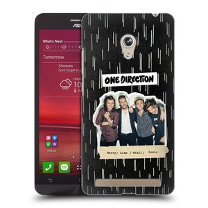 Plastové pouzdro na mobil Asus Zenfone 6 HEAD CASE One Direction - Sticker Partička
