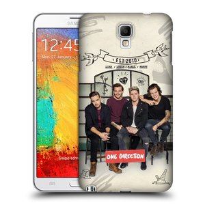 Plastové pouzdro na mobil Samsung Galaxy Note 3 Neo HEAD CASE One Direction - EST 2010