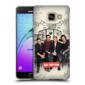 Plastové pouzdro na mobil Samsung Galaxy A3 (2016) HEAD CASE One Direction - EST 2010