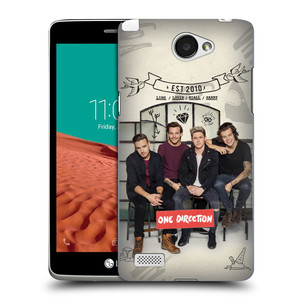 Plastové pouzdro na mobil LG Bello II HEAD CASE One Direction - EST 2010