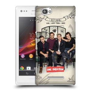 Plastové pouzdro na mobil Sony Xperia M C1905 HEAD CASE One Direction - EST 2010