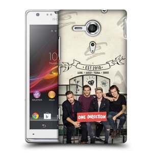 Plastové pouzdro na mobil Sony Xperia SP C5303 HEAD CASE One Direction - EST 2010